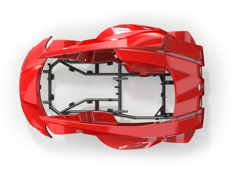 Integral bodywork - Features - Safety