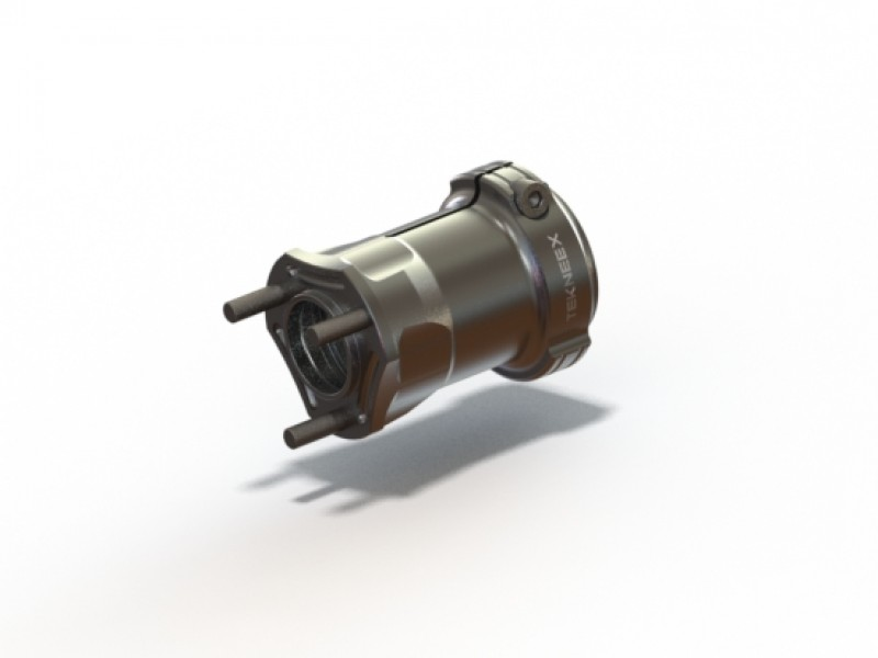 New rear hub - Racing features