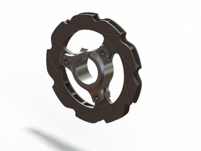 Disco de freno ventilado de 192mm