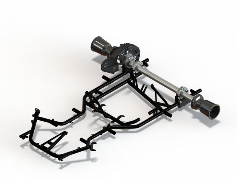 New rear axle bearing D50/80