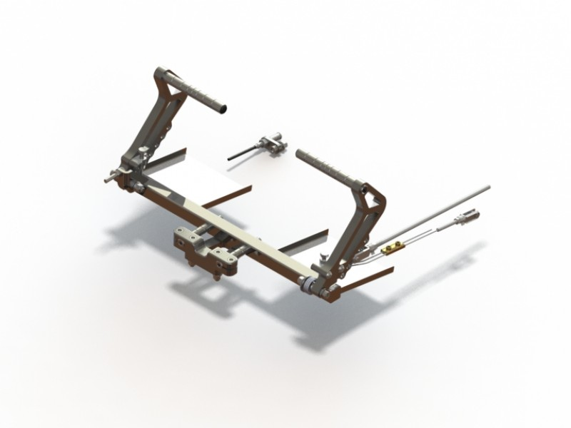 Adjustable pedals - Features - Racing features