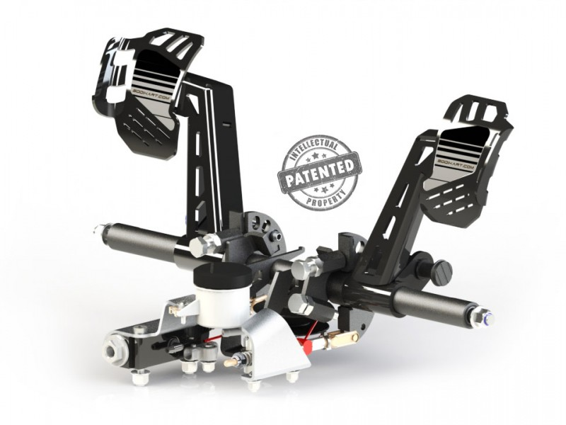 3 angle pedal position system - Features - Ergonomy