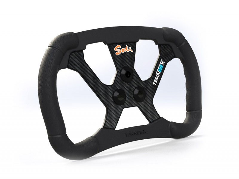 F1 Carbon steering wheel - Ergonomy