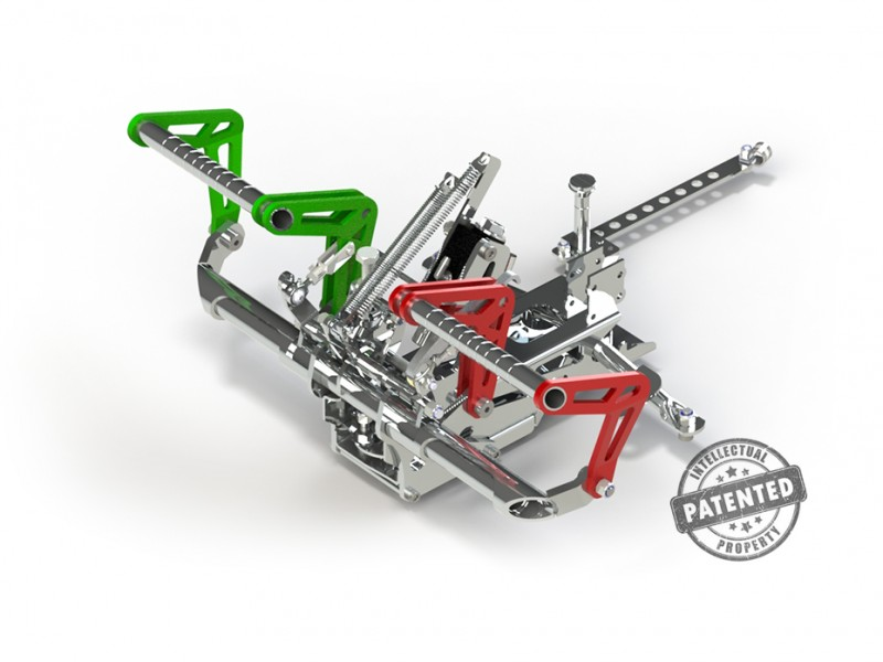 Adjustable pedals 2D - Features - Ergonomy