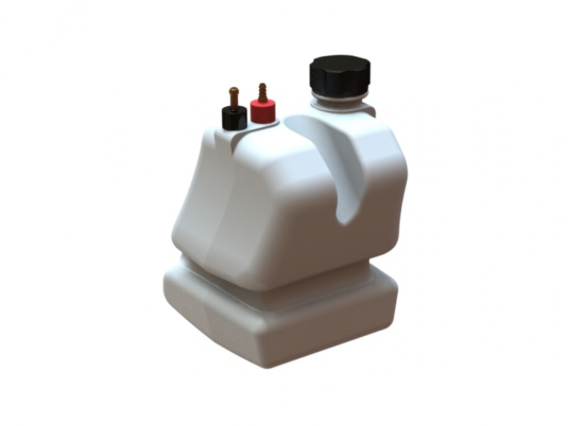 New complementary 3.5L fuel tank