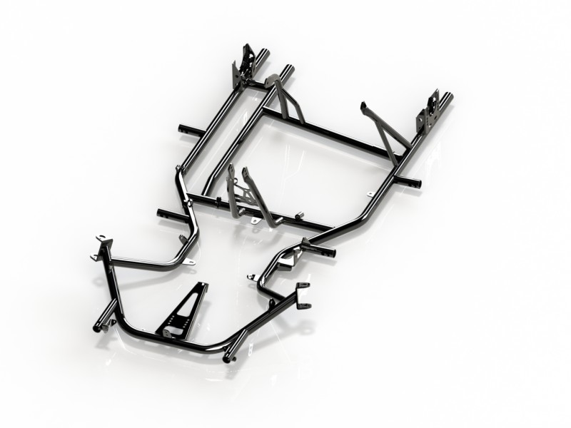 New Furia 950 - ASL - Frame  - Racing features