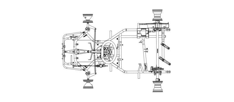 Furia 950 - Technical plan
