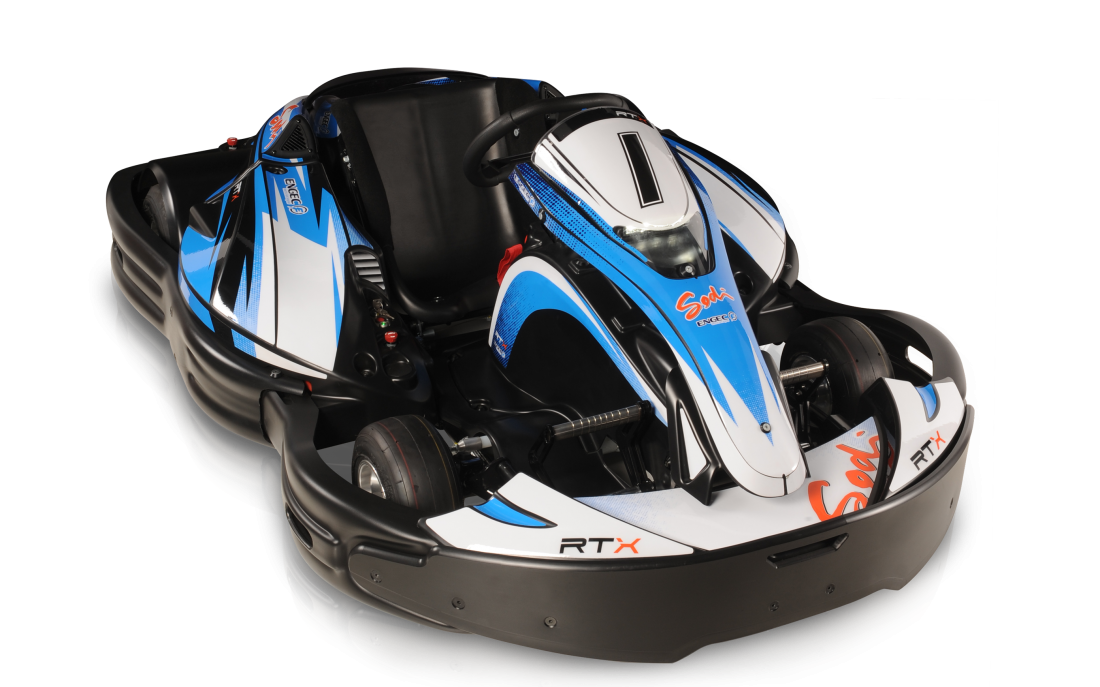 Sodi electric go kart RTX, electric gokart - SODIKART