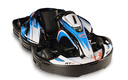 RTX - 100 % опыт вождения электрокарта