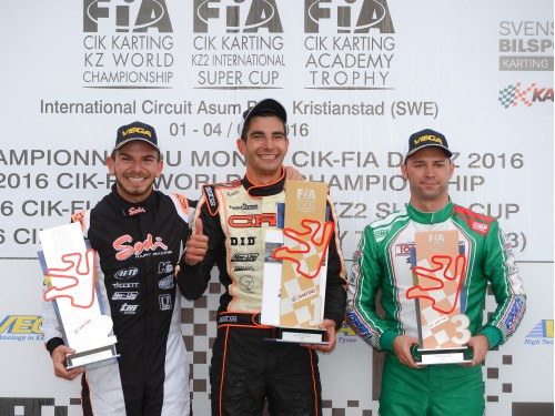 Sodi Vice-World Champion in KZ