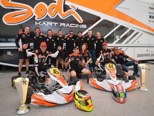 Sensational victory for Sodi in WSK Super Master w