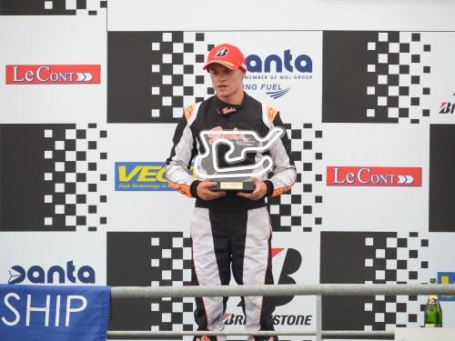 Formidable 2e place de Baciuska en KZ2 au Mans