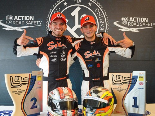 KZ2 World Champion & KZ Vice World Champion 2017 !