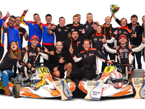 KZ2 World Victory and KZ vice World Champion