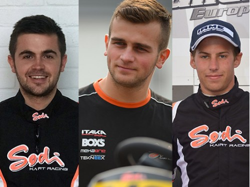 SODI Racing Team 2018 : OK drivers