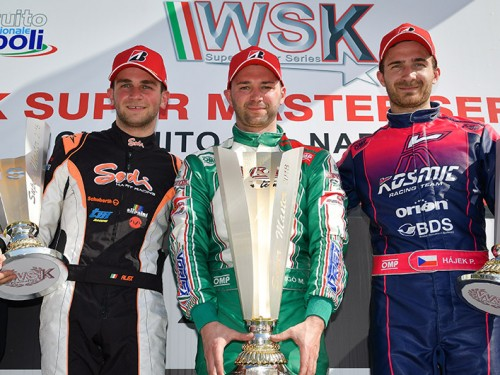 Sodi a brilliant 2nd in the WSK Super Master with