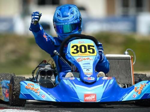 European Championship - Salbris : Renaudin wins an