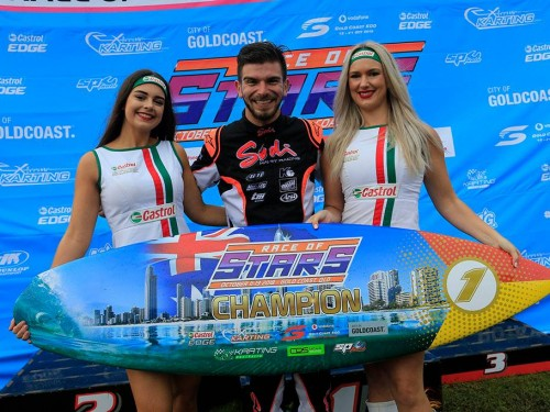 Anthony takes stunning race of stars win