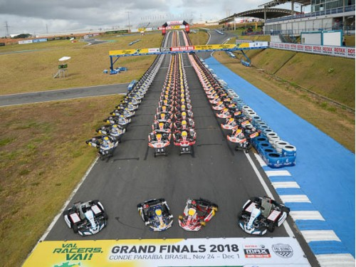 Sodi: partner of the 2018 Rotax Grand Final in Bra