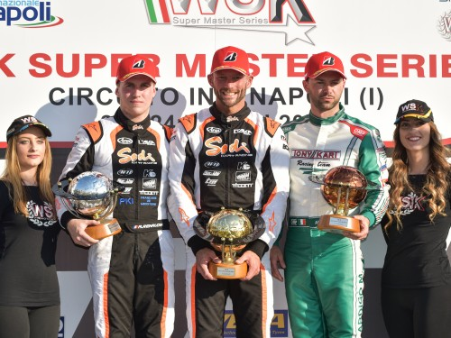 Double in the WSK Super Master Series