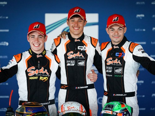 Extraordinary triple podium for Sodi !