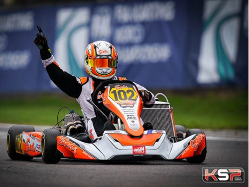 DENNER WON THE FIA KARTING KZ2 SUPER CUP