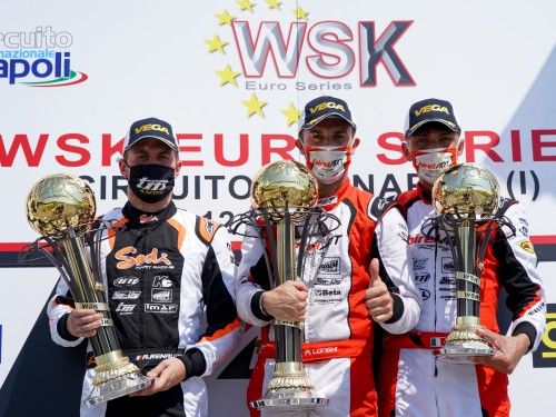 Pole position and podium at Sarno